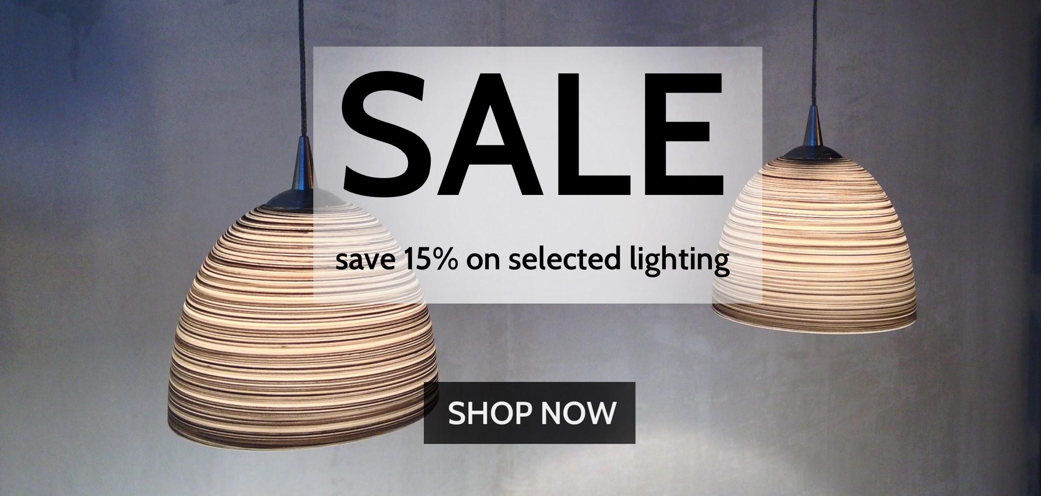 15% OFF Lighting